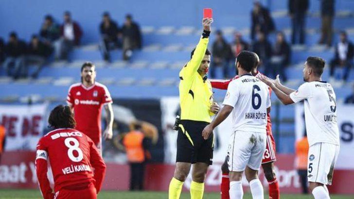 Beşiktaşlı oyuncular kırmızı kart kararını değiştirdi!