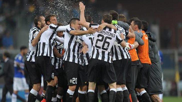 Serie A'da Juventus şampiyon