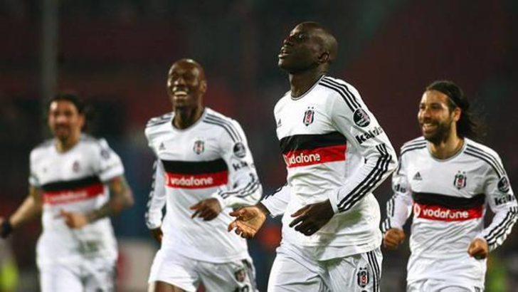 Beşiktaş Trabzon'dan lider döndü