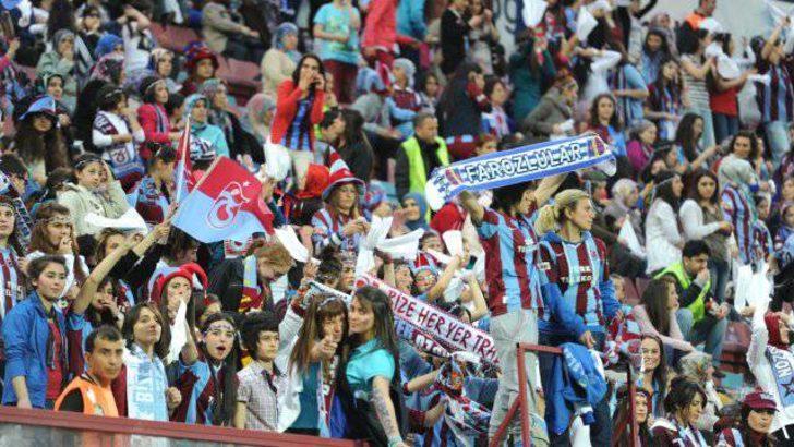 Trabzon'da maç sonu olay