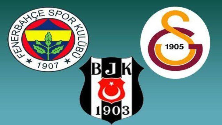 Galatasaray, Fenerbahçe ve Beşiktaş'ın kalan maçları
