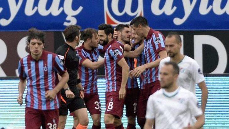Trabzonspor Bursa'yı tek golle geçti
