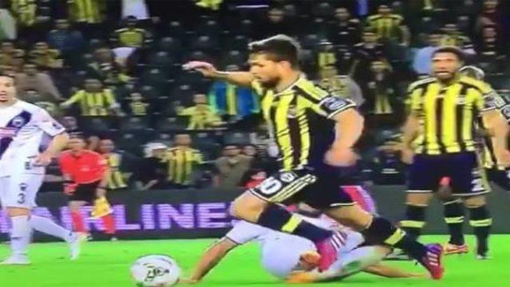İşte Fenerbahçe'nin penaltı beklediği pozisyon