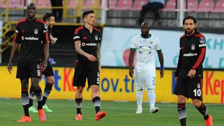 Beşiktaş zirveden uzaklaşıyor
