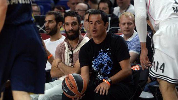Acun ve Arda Fenerbahçe'yi yalnız bırakmadı