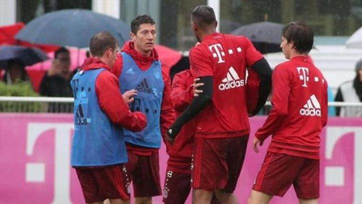 Bayern Münih'te kavga!