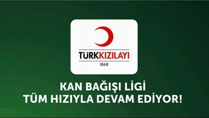 Kan Bağışı Ligi'nde lider Galatasaray
