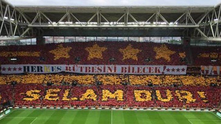 Galatasaray'dan müthiş kareografi!