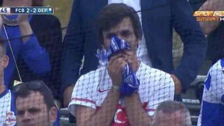 Türkiye formalı Deportivo taraftarı