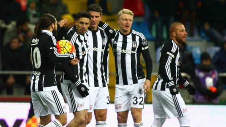 Beşiktaş Kayserispor'u yendi, zirveye kondu