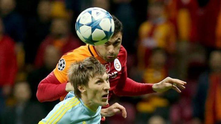 Galatasaray 1-1 Astana maç özeti Mynet'te