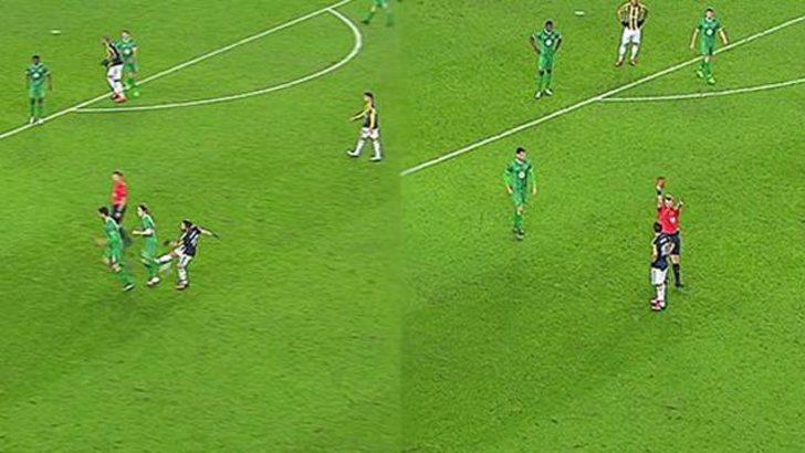 Diego oyundan atıldı!