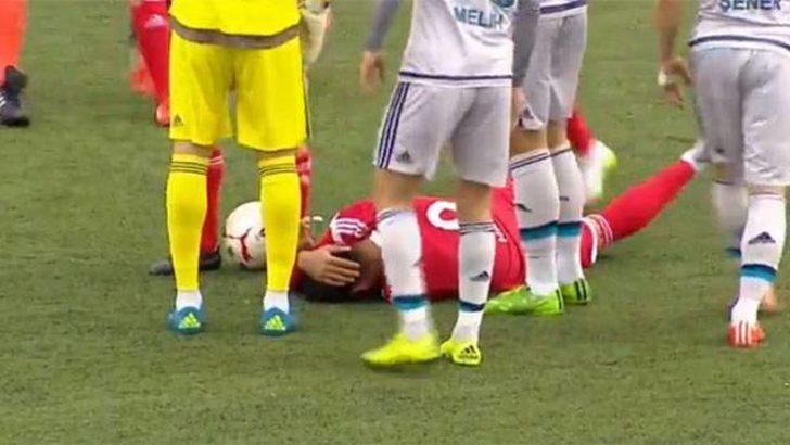 Tuzlaspor - Fenerbahçe maçında taşlı saldırı şoku
