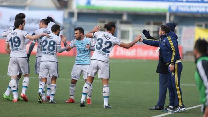 Fenerbahçe Tuzlaspor'u gençleriyle 2-1 yendi