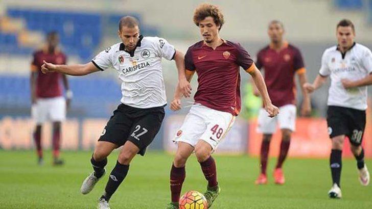 Roma-Spezia maçı tarihe geçti!