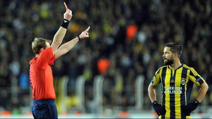 UEFA'dan Diego Ribas'a 3 maç ceza!