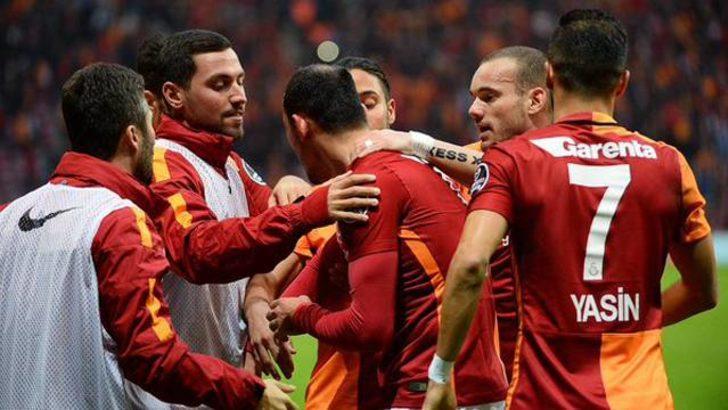 Galatasaray Akhisar'ı yendi, nefes aldı