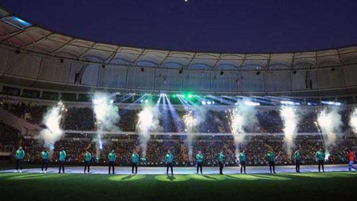 Timsah Arena'da muhteşem açılış