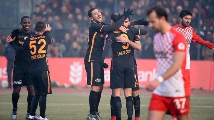 Galatasaray kupada Kastamonuspor'u devirdi