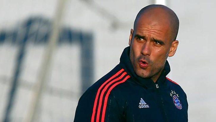 Pep Guardiola Manchester City'de!