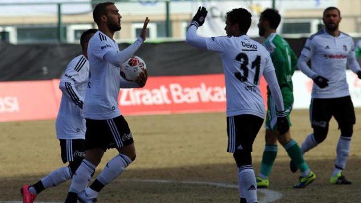 Beşiktaş, Türkiye Kupası'nda Sivas Belediyespor engelini aştı