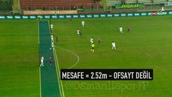Akhisar Belediyespor-Osmanlıspor maçında Türkiye rekoru!