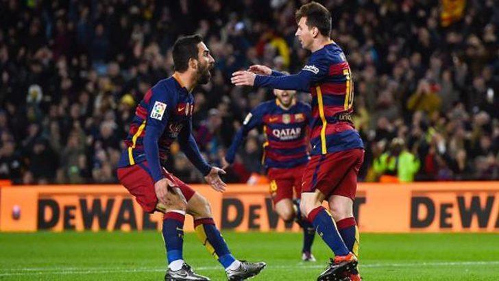 Arda Turan'lı Barcelona, Espanyol'u ezdi