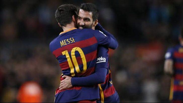 Arda: 'Messi'nin söylediği bende kalsın'