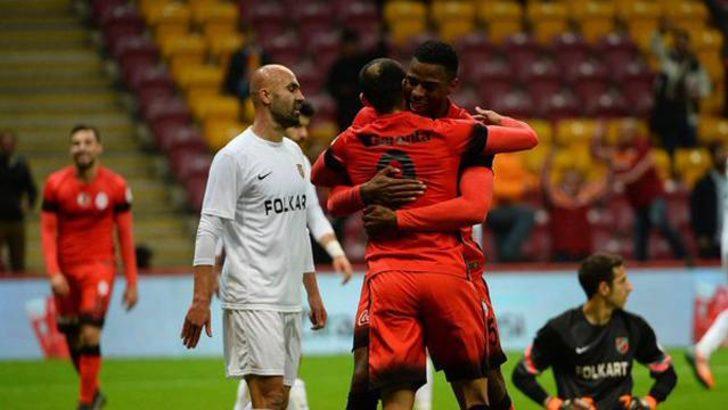 Galatasaray Karşıyaka'yı rahat geçti