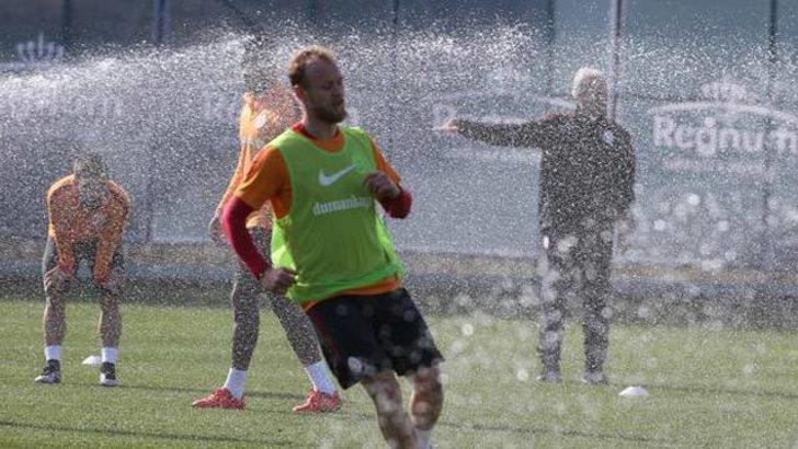 Galatasaray kampında fıskiye krizi