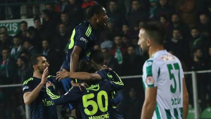 Fenerbahçe Giresunspor engelini 2 golle aştı