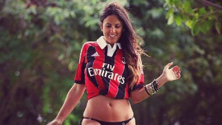 Claudia Romani, Milan forması giyince hakemlik kariyeri bitti