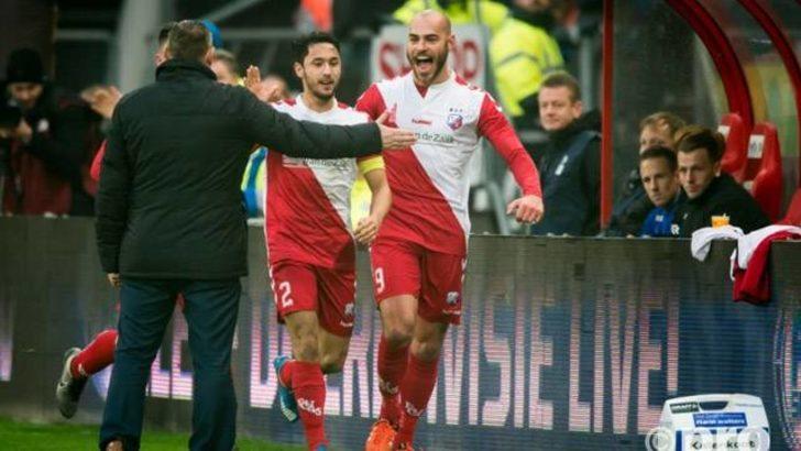 Utrechtli Boymans golünü rakip hoca ile kutladı