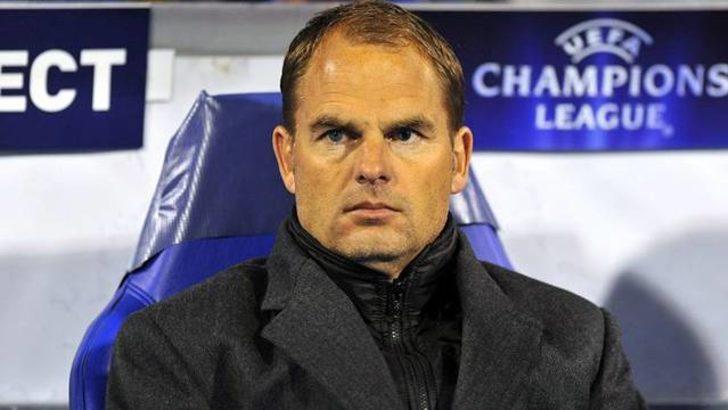 Frank de Boer Inter'e doğru!