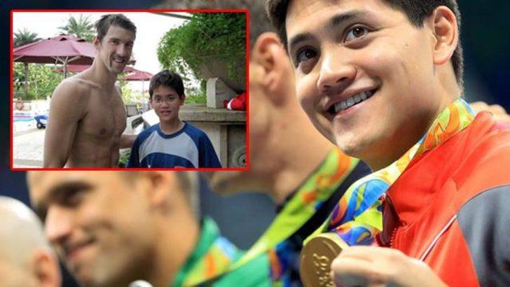Hayranı Michael Phelps'i geçti