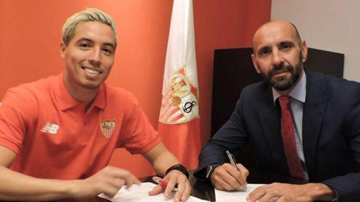 Samir Nasri 1 yıllığına Sevilla'ya kiralandı