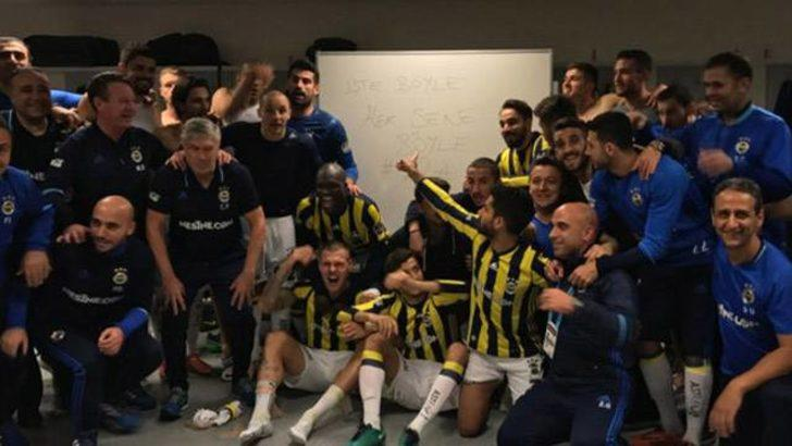 Fenerbahçe'den Galatasaray'a soyunma odasından gönderme