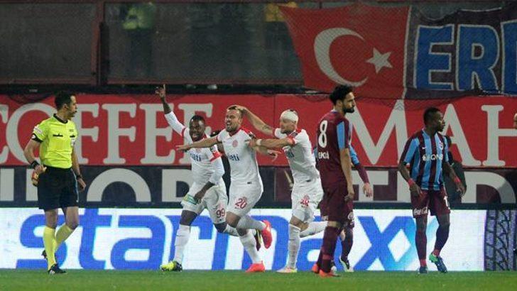 Trabzonspor 0 - 1 Antalyaspor