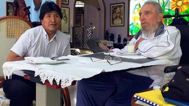 Fidel Castro en son Türk güreşçi Rıza Kayaalp'i izledi