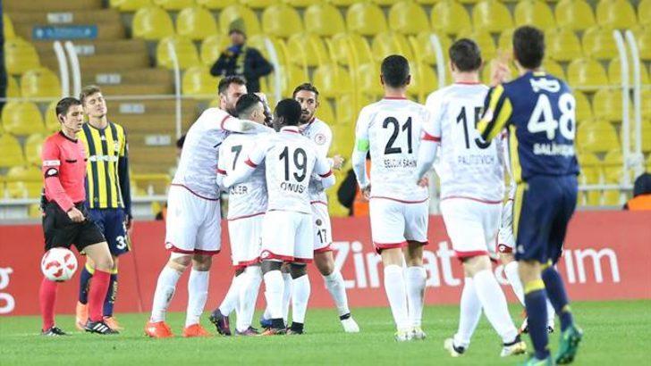 Fenerbahçe 1 - 2 Gençlerbirliği