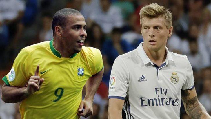 Kroos'un göndermesine Ronaldo'dan tokat gibi yanıt