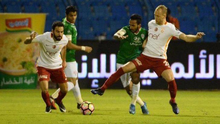 Galatasaray, Suudi Arabistan'da sponsor arayışında