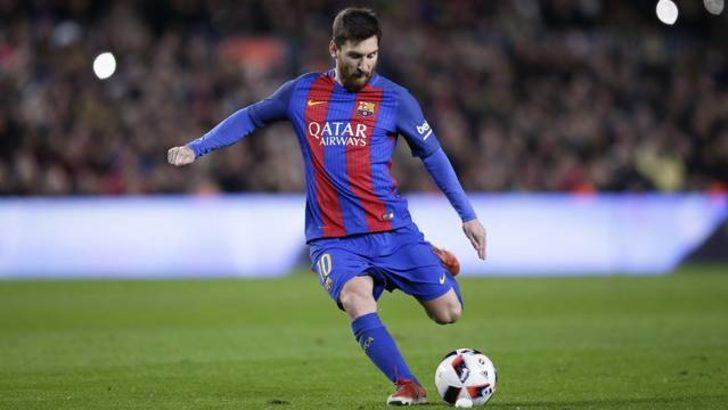 Messi'den müthiş rekor