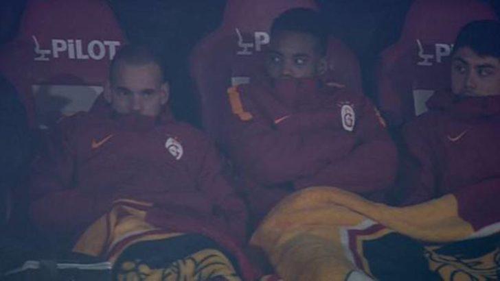Ozan Tufan, Galatasaray yedek kulübesinde