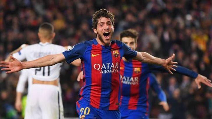 Sergi Roberto'nun golü depreme neden oldu