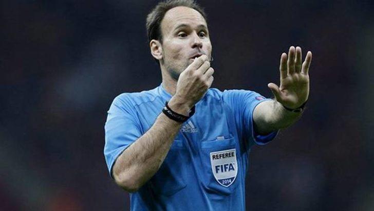 Başakşehir-Sporting Lizbon maçını Antonio Mateu Lahoz yönetecek