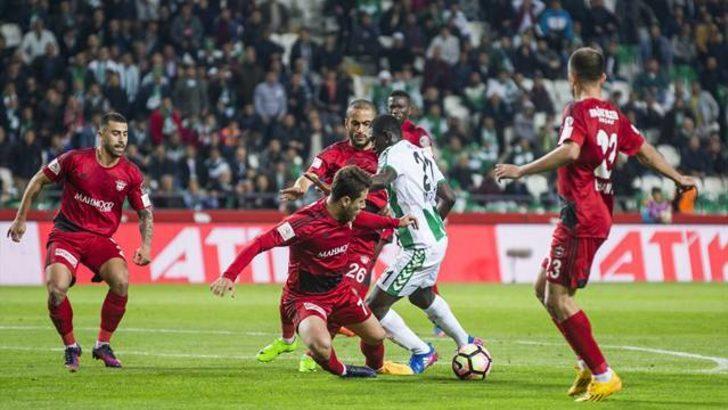 Atiker Konyaspor 1 - 2 Gaziantepspor