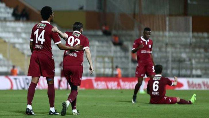Bandırmaspor 5 - 0 Yeni Malatyaspor