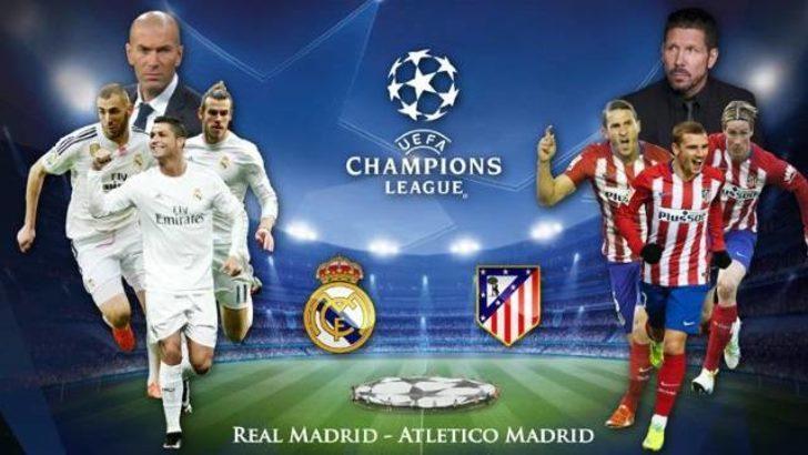 Atletico Madrid - Real Madrid maçı ne zaman, saat kaçta ve hangi kanaldan canlı yayınlanacak?