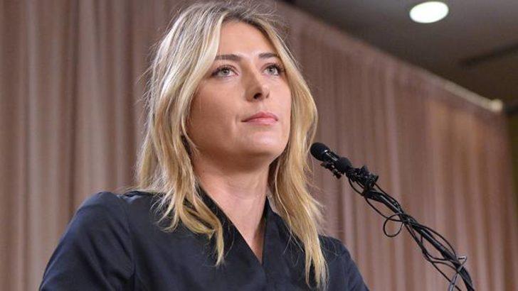 Erkek gazeteci Sharapova'yı şaşkına çevirdi